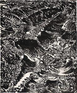 Thème : la mer. Exposition La Mer d'Iroise.
