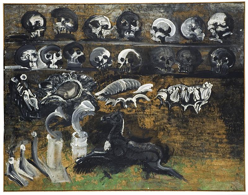 Oeuvre de Raymond Humbert.  Photos Archives du Musée des Ars populaires de Laduz
