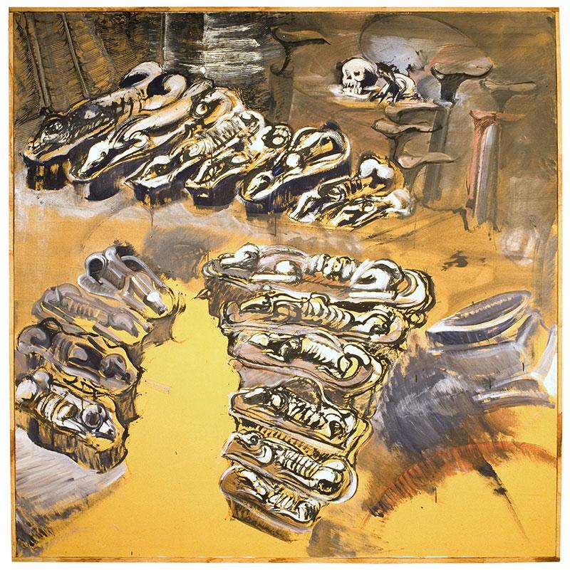 Thème : les terrines (nature morte), de Raymond Humbert. Photos Archives du Musée des Ars populaires de Laduz