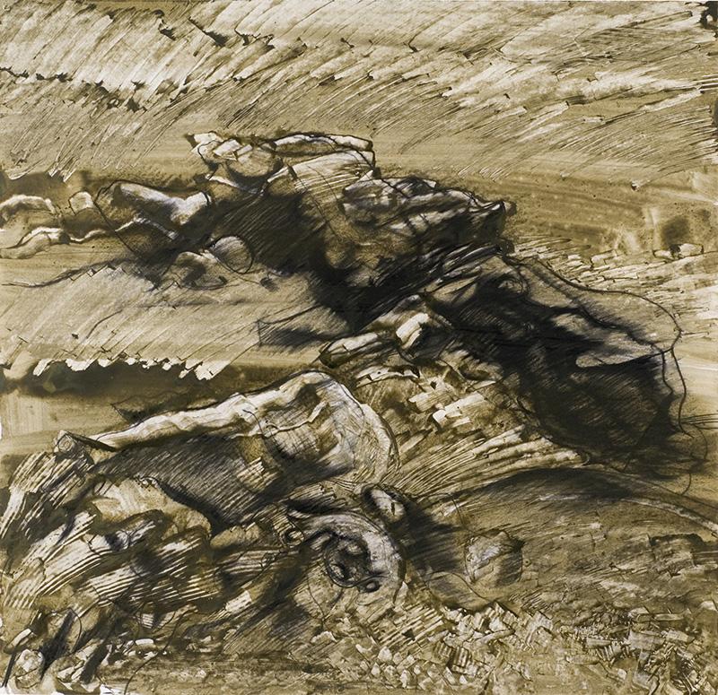 Thème : Paysage. Oeuvre de Raymond Humbert. Photo Archives du Musée de Laduz