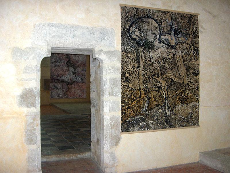 Exposition Humbert - Centre culturel de l'Abbaye de l'Epau, Le Mans. 2007. Photo J. Humbert
